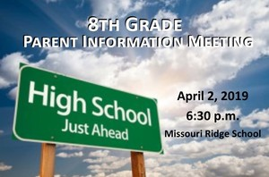 8th Grade Parent Info Meeting