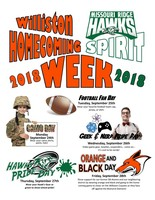 Get ready for Homecoming Spirit Week!