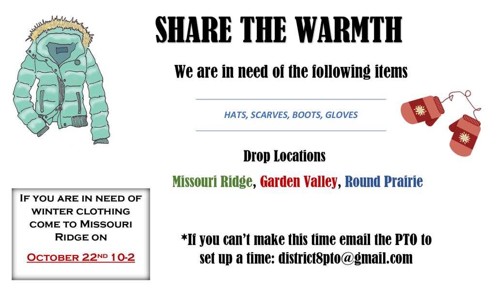 Share the Warmth - Clothing Drive