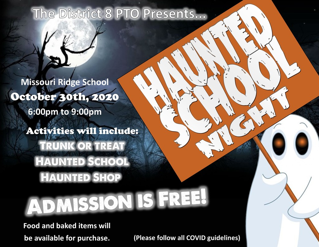 Haunted School Night - October 30, 2020