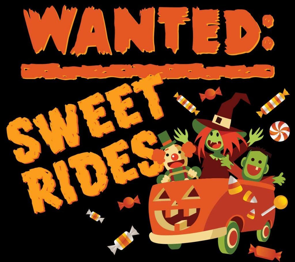 Wanted - Sweet Rides for Trunk or Treat