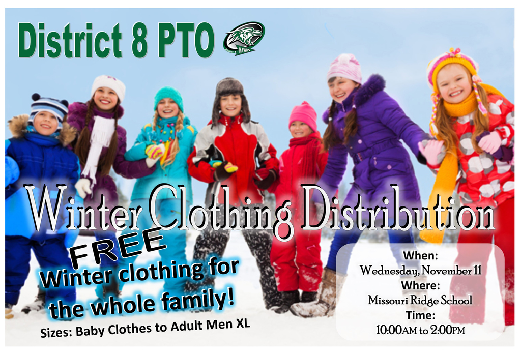 PTO Winter Clothing Distribution