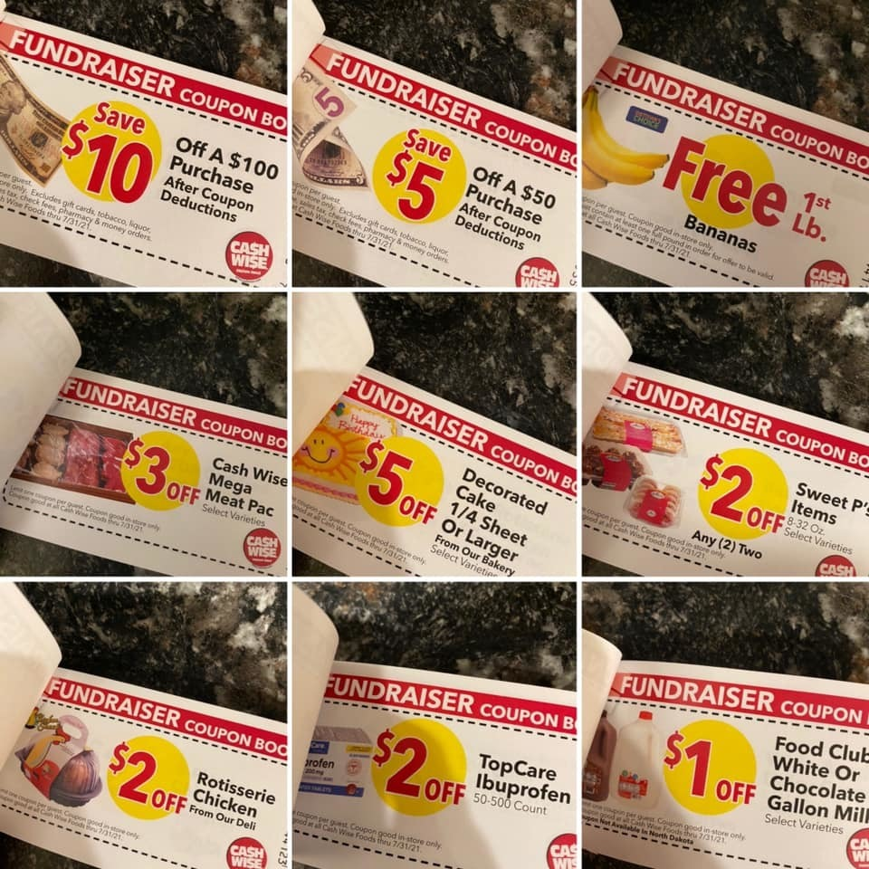Cashwise Coupon Samples
