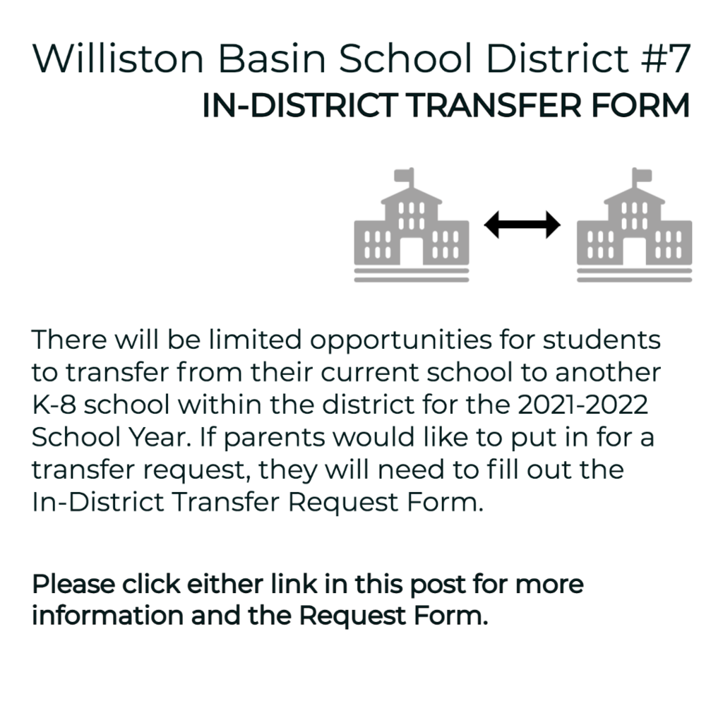 District 7 In-School Transfer