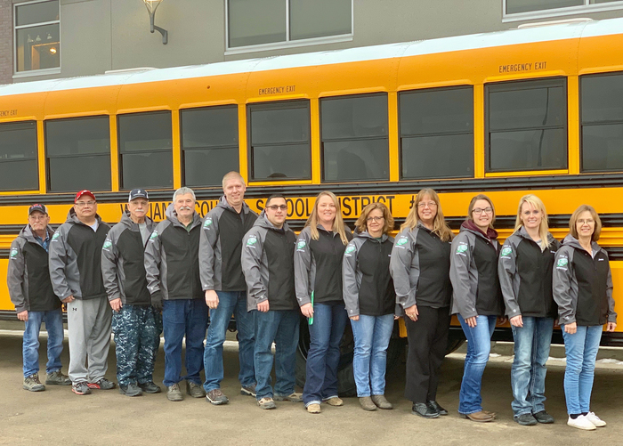 WCSD8 Bus Drivers 2019