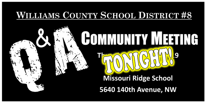 Community Meeting Tonight