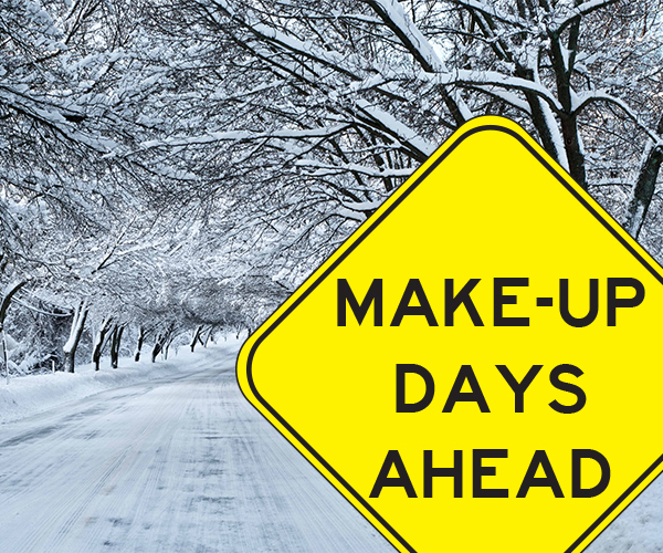 Make -Up Days 2018